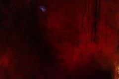 redII, Acryl, 50x50